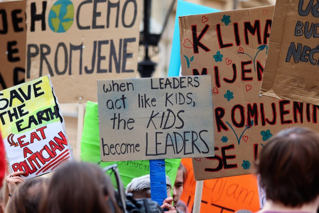 studenten sind politisch